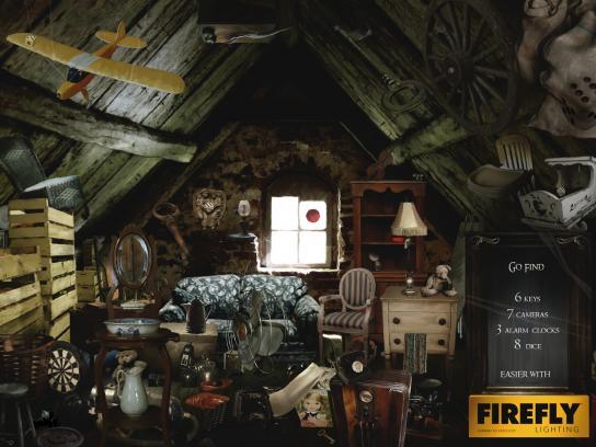Firefly Print Ad -  Attic