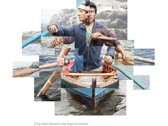 Movistar Print Ad -  Fisherman