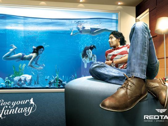 Redtape Print Ad -  Fishtank