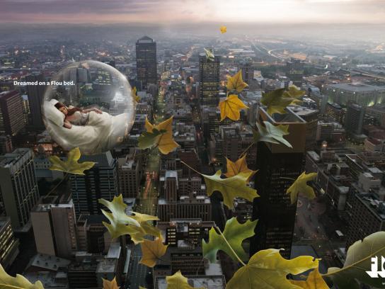 Flou Print Ad -  City