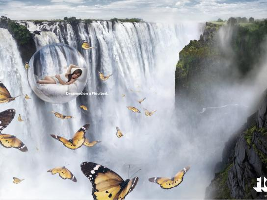 Flou Print Ad -  Waterfall