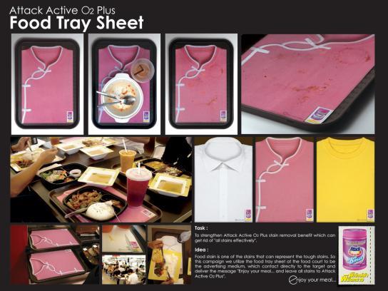 Food Tray Sheet