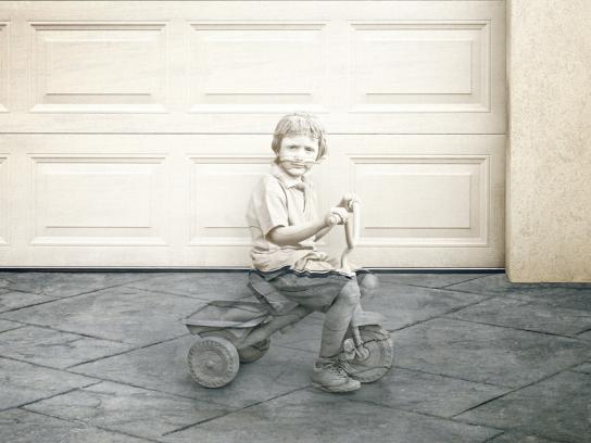 Ford Print Ad -  Boy