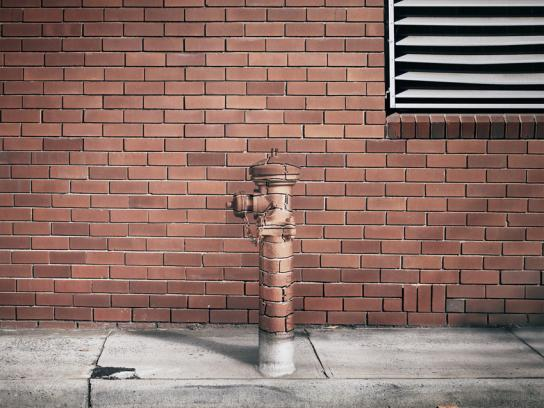 Ford Print Ad -  Fire hydrant
