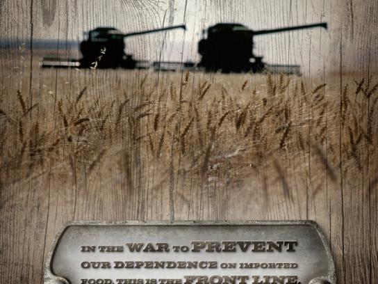 Utah Department of Agriculture Print Ad -  Front Line
