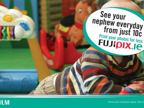 Fuji Outdoor Ad -  Nephew