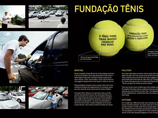 Fundação Tênis Direct Ad -  Balls