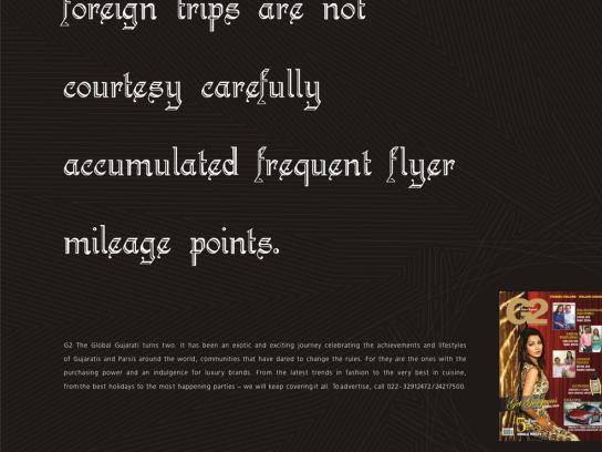 G2 Print Ad -  Trips