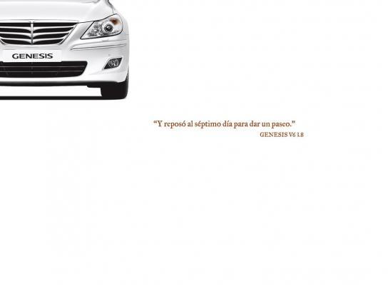 Hyundai Print Ad -  New Genesis