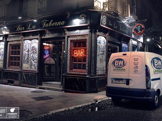 Waypoint Print Ad -  Bar