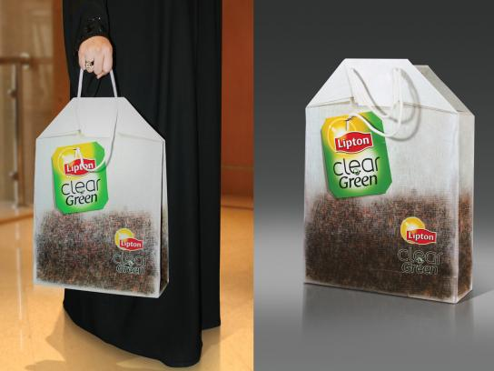 Lipton Ambient Ad -  Carry Bag