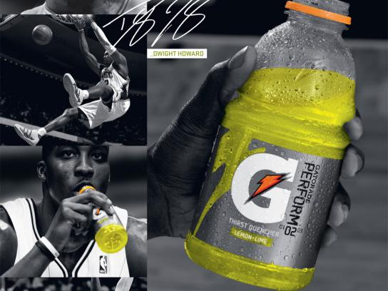 Gatorade Print Ad -  During