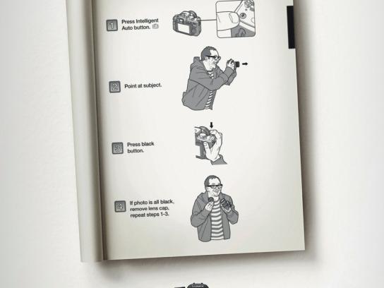Panasonic Print Ad -  Lens Cap