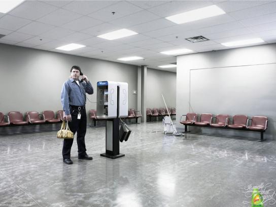 Gain Print Ad -  Airport