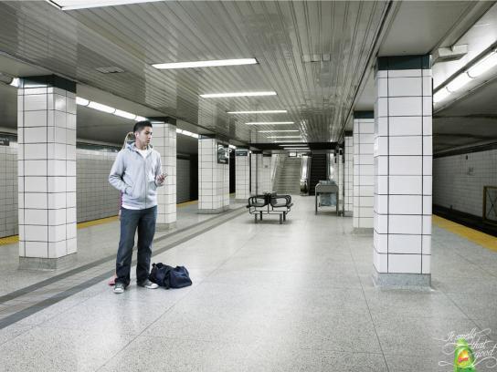 Gain Print Ad -  Subway