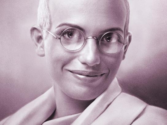 IG Print Ad -  Gandhi