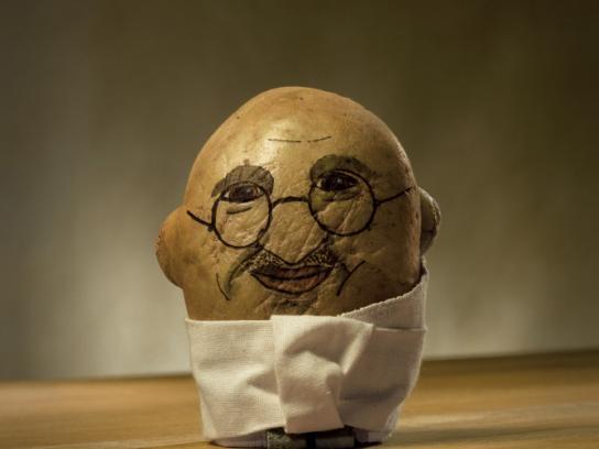 Potatoheads, Gandhi