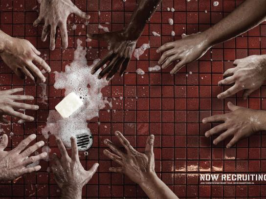 Muddy York Print Ad -  Drop the soap