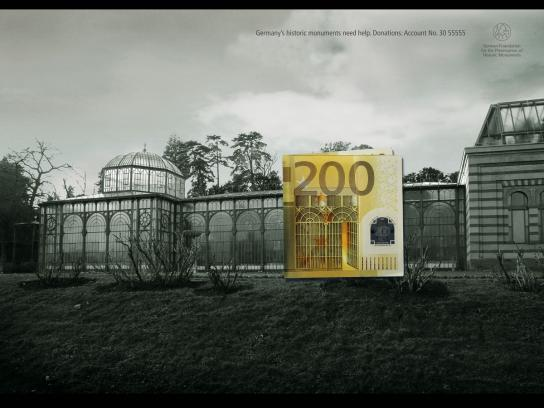 German Foundation for Monument Protection Print Ad -  Bank note, 3