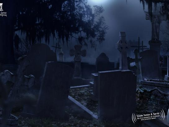 Glade Print Ad -  Cemetery