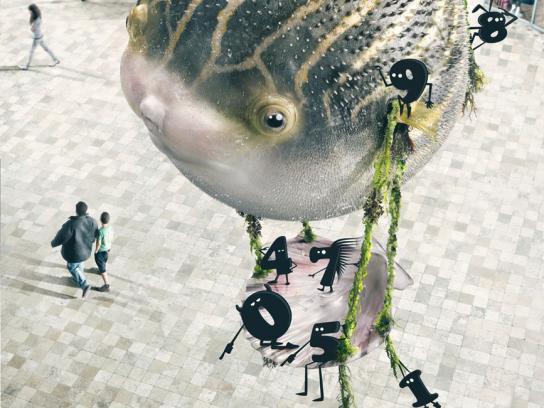 Movistar Print Ad -  Globefish