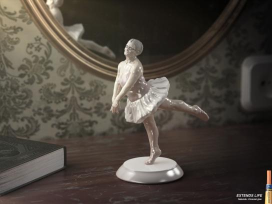 Sekunda Print Ad -  Ballerina