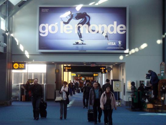 Visa Outdoor Ad -  Go World, Go le monde