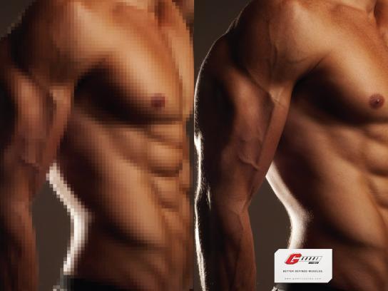 Godoi Muscle Gym Print Ad -  Man, 1