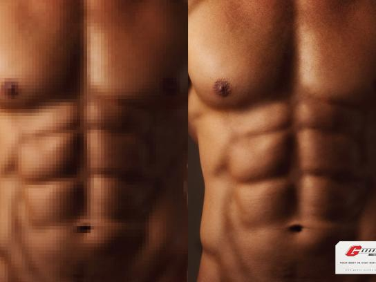Godoi Muscle Gym Print Ad -  Man, 2