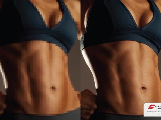 Godoi Muscle Gym Print Ad -  Woman, 1