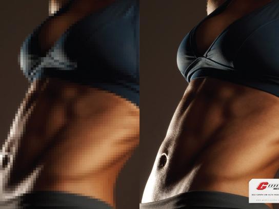 Godoi Muscle Gym Print Ad -  Woman, 2