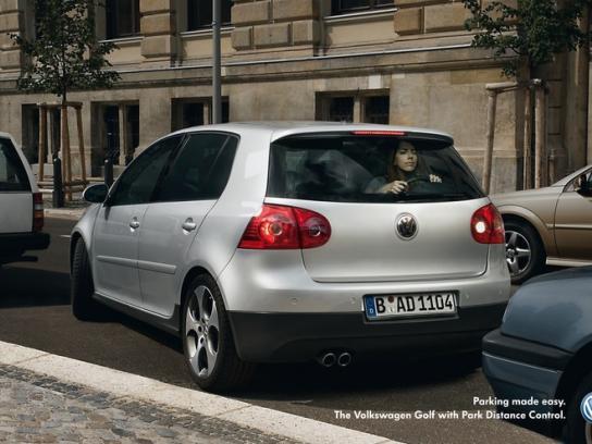 Volkswagen Print Ad -  Golf