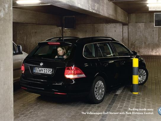 Volkswagen Print Ad -  Golf variant