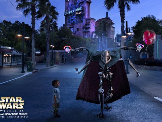 Disney Print Ad -  Grievous