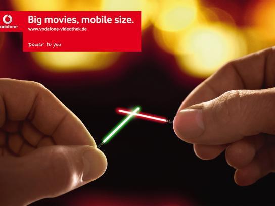 Vodafone Print Ad -  Star Wars
