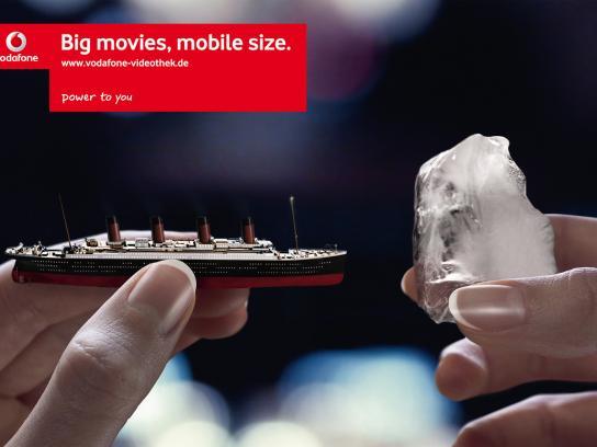 Vodafone Print Ad -  Titanic