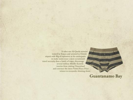 The Times Print Ad -  Guantanamo Bay
