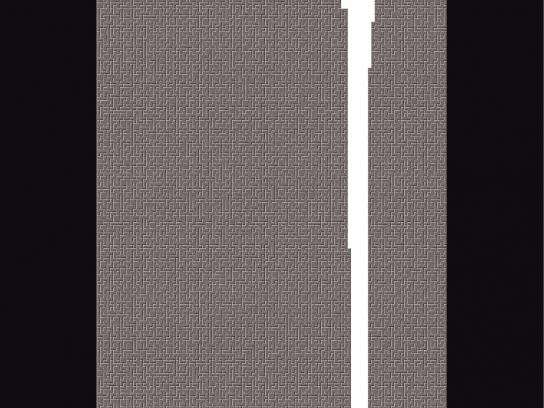 Guinness Print Ad -  Tetris