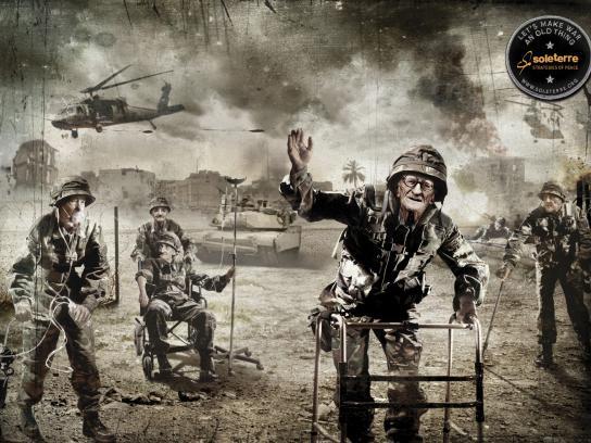 Soleterre Print Ad -  Old war, 1