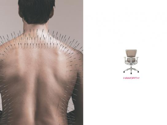 Haworth Print Ad -  Acupuncture