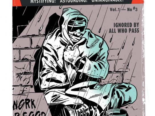 Homeward Print Ad -  The invisible man