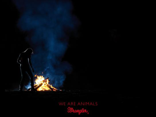 Wrangler Print Ad -  We're animals, 8