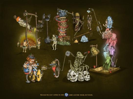HP Print Ad -  Archeologist