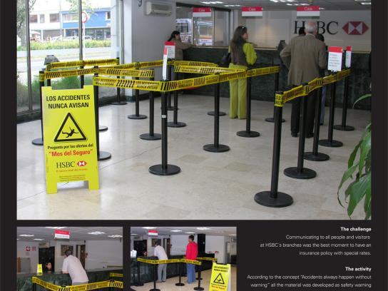 HSBC Ambient Ad -  Insurance Month