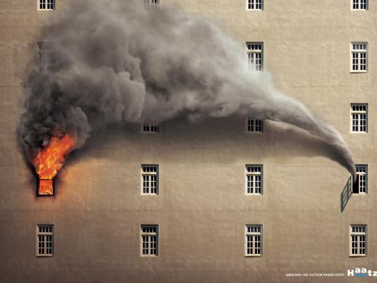 Haatz Print Ad -  Smoke