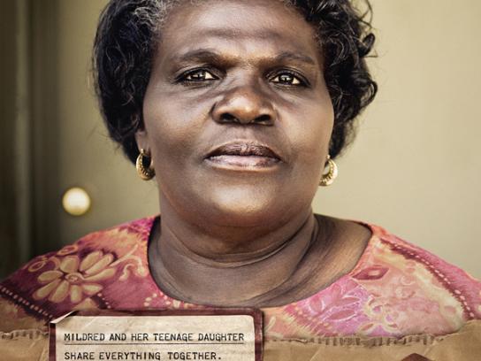 Habitat for Humanity Print Ad -  Mildred
