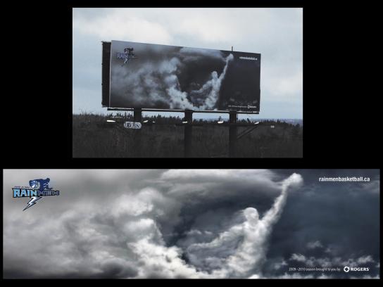 Halifax Rainmen Outdoor Ad -  Cloudman