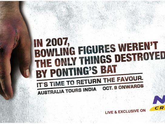 Neo Cricket Print Ad -  Hand