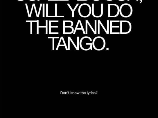 Hard Rock Cafe Print Ad -  Tango