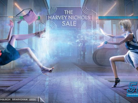 Harvey Nichols Print Ad -  Salefighter Campaign Womenswear, 1